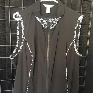 CJ Banks women's vest 1X